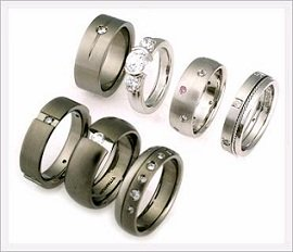Cheap titanium rings