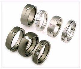 Cheap titanium rings